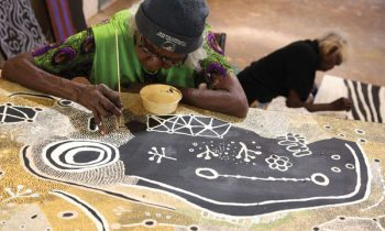 Streets of Papunya: the re-invention of Papunya painting