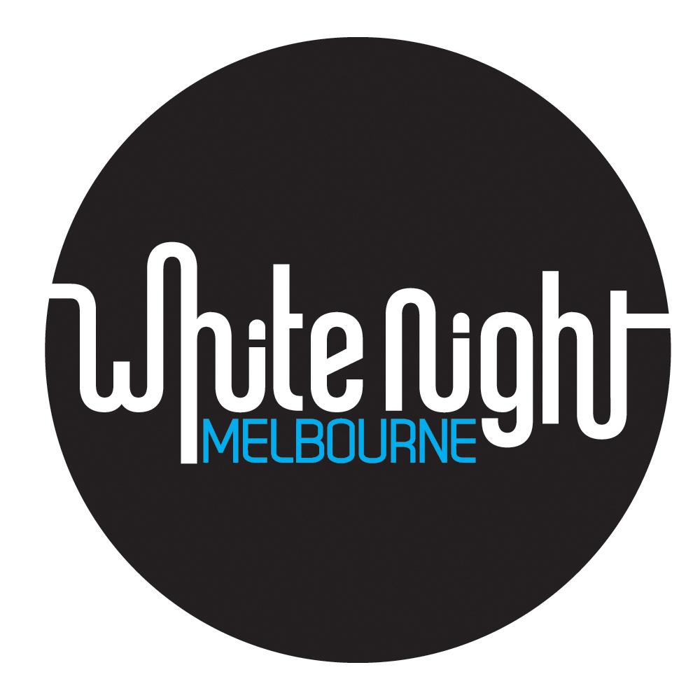 White Night Melbourne 2014 Logo