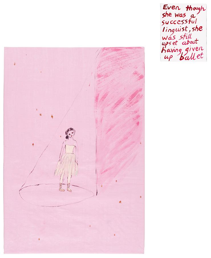 Jenny Watson, 'Ballerina'.