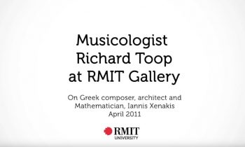 Richard Toop Talks Music and Architecture