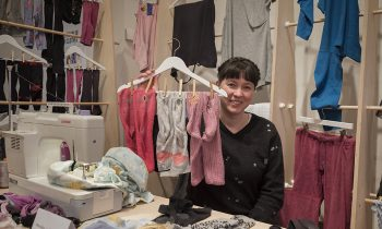 Jenny Underwood, curator of Slow Fashion Studio