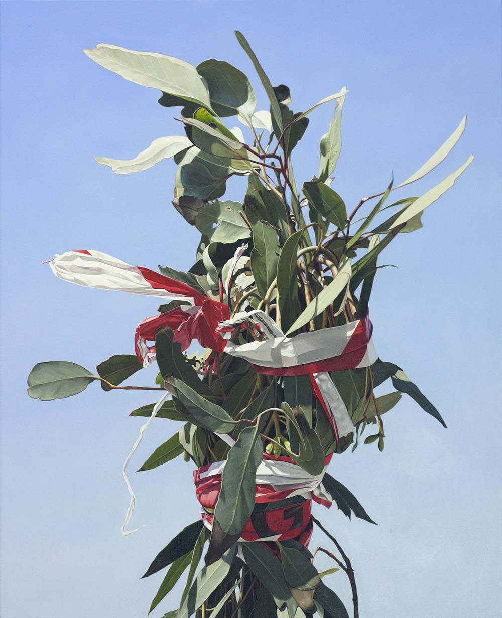 Juan Ford,Rocket Surgery 2010 oil on linen 76 x 61 cm The Seldon Robinson Collection, Melbourne