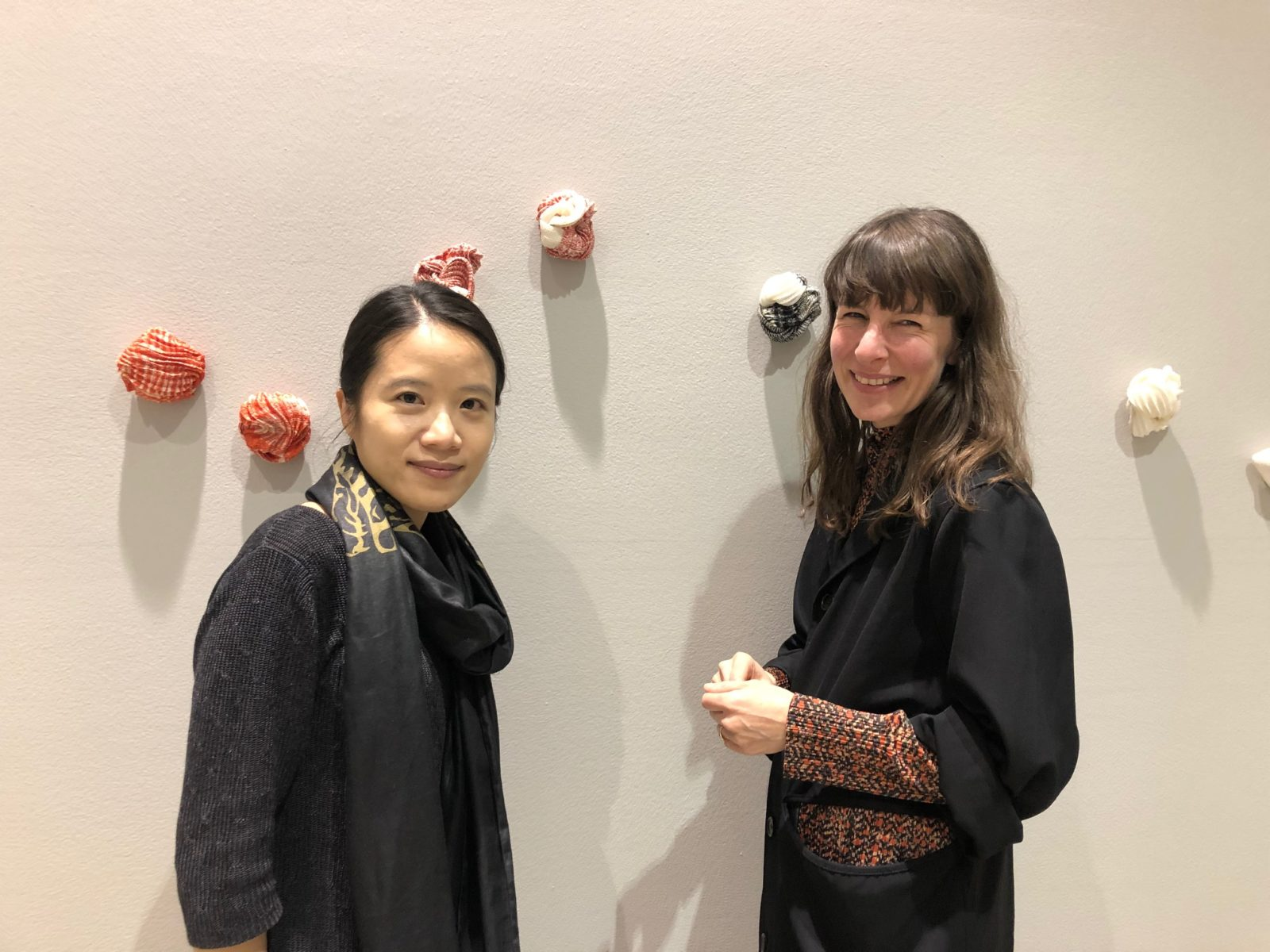 Young career curator mentorship with Yu Fang Chi – curator of. Insistent. Gestures